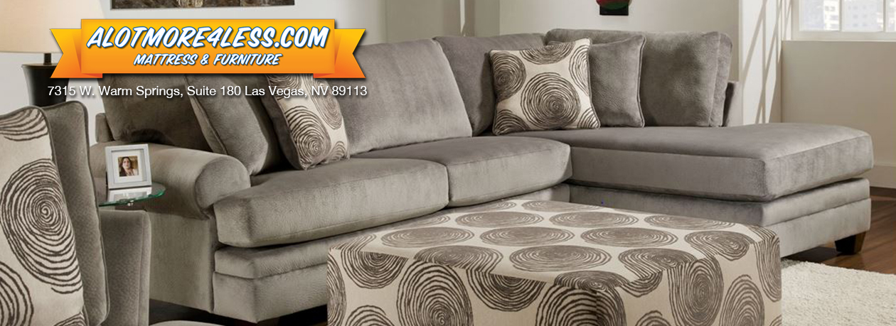 Groovy Grey Chaise Sectional
