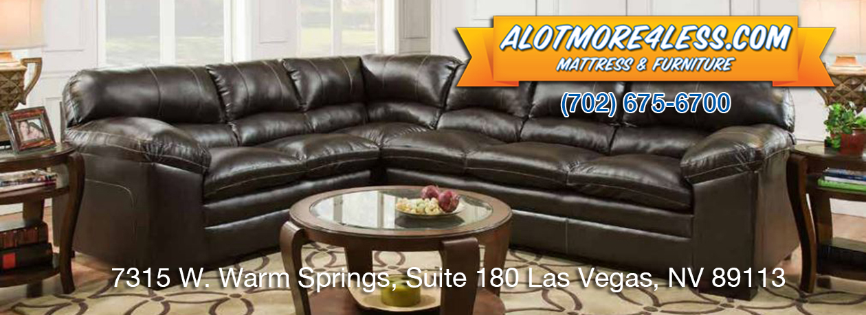 Simmons Bingo Brown Sectional